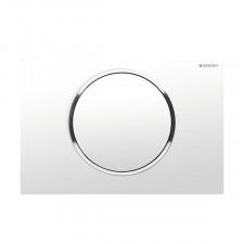 Geberit Sigma10 Przycisk uruchamiający przedni biały-chrom bł.-biały - 461189_O1