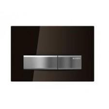 Geberit Sigma50 Przycisk uruchamiający przedni szkło dymione - 461236_O1
