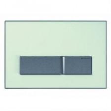 Geberit Sigma50 Przycisk uruchamiający, przedni, szkło zielone satynowane - 461237_O1