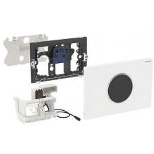 Geberit HyTronic elektroniczny zestaw uruchamiający WC Geberit, IR, Sigma10, czarny-chrom bł. - 461220_O1