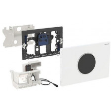 Geberit HyTronic elektroniczny zestaw uruchamiający WC Geberit, IR, Sigma10, chrom mat-chrom bł. - 461221_O1