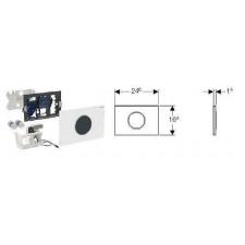 Geberit HyTronic elektroniczny zestaw uruchamiający WC Geberit, IR, zasilanie bateryjne, Sigma10, biały-złoty - 461225_O1