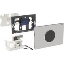 Geberit HyTronic elektroniczny zestaw uruchamiający WC Geberit, IR, zasilanie bateryjne, Sigma10, stal nierdz. - 461230_O1
