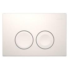 Geberit Delta21 - przycisk uruchamiający przedni do spłuczek podtynk. UP100, biały-alpinO1