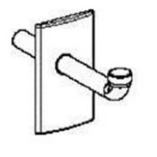 Geberit Duofix Zestaw wykończeniowy syfonu podtynkowego do elementu montażowego, chrom bł.O1