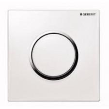 Geberit HyTouch przycisk pneumatyczny zawór spłukujący do pisuaru, ręczny, Sigma10, biały-chrom bł.-biały - 26674_O1