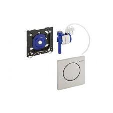 Geberit HyTouch przycisk pneumatyczny zawór spłukujący do pisuaru, ręczny, Sigma10, biały-złoty-biały - 26675_O1