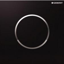 Geberit HyTouch przycisk pneumatyczny zawór spłukujący do pisuaru, ręczny, Sigma10, czarny-chrom bł.-czarny - 26677_O1