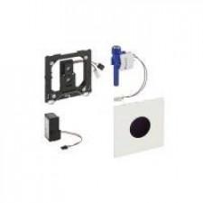 Geberit HyTronic przycisk elektroniczny zawór spłukujący do pisuaru, zasilanie 230V, Sigma01, biały - 461248_O1