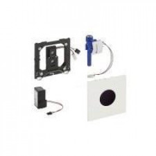 Geberit HyTronic przycisk elektroniczny zawór spłukujący do pisuaru, zasilanie 230V, Sigma01, chrom błyszczący - 461249_O1