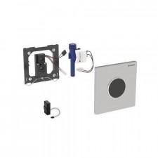 Geberit HyTronic przycisk elektroniczny zawór spłukujący do pisuaru, zasilanie bateryjne, Sigma10, chrom mat-chrom bł.-chrom mat - 26718_O1