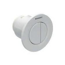 Geberit HyTouch pneumatyczny przycisk uruchamiający WC Typ 01, ręczny, podtynkowy, Sigma 8cm, dwudzielny, biały - 553813_O1