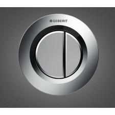 Geberit HyTouch pneumatyczny przycisk uruchamiający WC Typ 01, ręczny, podtynkowy, Sigma 8cm, dwudzielny, chrom - 553820_O1