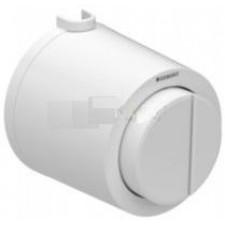 Geberit HyTouch pneumatyczny przycisk uruchamiający WC Typ 01, ręczny, natynkowy, dwudzielny, biały - 553842_O1