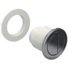 Geberit HyTouch pneumatyczny przycisk uruchamiający WC Typ 10, ręczny, meblowy dwudzielny, chrom mat-chrom - 553837_O1