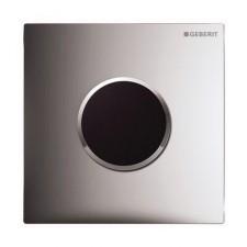 Geberit HyTronic elektroniczny zawór spłukujący do pisuaru, zasilanie bateryjne, Sigma10, chrom bł.-chrom mat-chrom bł.O1
