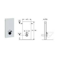 Geberit Monolith moduł sanitarnydo WC wiszącego, H101, sand - 599129_O1