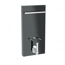 Geberit Moduł sanitarny Monolith do bidetu, H101, lava, boki czarne - 823053_O1