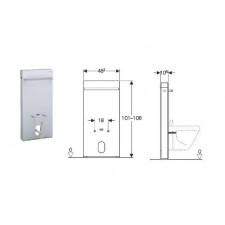 Geberit Monolith moduł sanitarnydo bidetu, H101, sand - 599182_O1