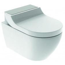 Geberit AquaClean Tuma Comfort Urządzenie WC z funkcją higieny intymnej wisząca miska WC, stal - 721972_O1