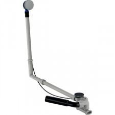 Geberit Zestaw odpływowo-przelewowy do wanien niestandardowych, z korkiem automatycznym, kompletny, chrom bł. - 599057_O1