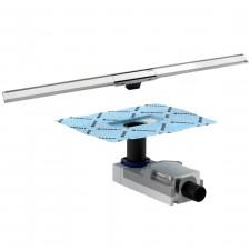 Geberit CleanLine kompletny odpływ liniowy 30 do 90 cm (154.150.00.1+ 154.450.KS.1) - 718463_O1