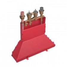 Hansgrohe Zestaw podstawowy do baterii 4-otworowej z termostatem do montażu na brzegu wanny - 2151_O1