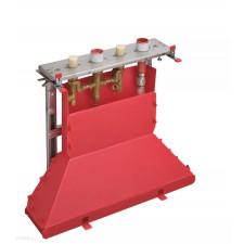Axor Zestaw podstawowy do baterii 4-otworowej do montażu na cokole z płytek - 763529_O1