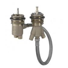 Axor Zestaw podstawowy do 2-otworowej baterii termostatycznej do montażu na brzegu wanny - 763547_O1