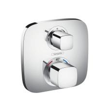 Hansgrohe Ecostat E bateria termostatyczna podtynkowa z zaworem odcinającym, element zewnętrzny chrom - 508185_O1