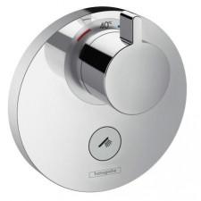 Hansgrohe ShowerSelect S Bateria termostatyczna podtynkowa HighFlow dla 1 odbiornika, z dodatkowym wyjściem, element zewnętrzny chrom - 508157_O1
