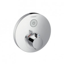 Hansgrohe ShowerSelect S bateria termostatyczna podtynkowa dla 1 odbiornika, element zewnętrzny, chrom - 508296_O1