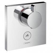 Hansgrohe ShowerSelect Bateria termostatyczna podtynkowa highflow dla 1 odbiornika, element zewnętrzny chrom - 466566_O1