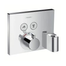 Hansgrohe ShowerSelect Bateria termostatyczna ShowerSelect dla 2 odbiorników z Fixit i Porter, montaż podtynkowy, element zewnętrzny chrom - 489033_O1