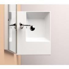 Catalano Premium UP Umywalka wisząca prawa 60 x 47 biała - 682313_O1