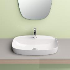 Catalano Green Lux Umywalka nablatowa 60x40 biała matowa - 682335_O1
