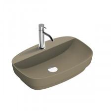 Catalano Green Lux umywalka nablatowa 65x42 brązowy mat - 786490_O1