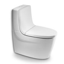 Roca Khroma Miska WC do kompaktu o/ podwójny biała