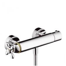 Axor Carlton bateria termostatyczna DN15 z uchwytem krzyżowym do prysznica, montaż natynkowy - 2324_O1