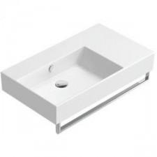 Catalano Premium UP Umywalka wisząca/nablatowa lewa 80 x 47 biała - 682343_O1