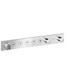 Axor ShowerSolution Moduł termostatyczny Select 670/90 do 5 odbiorników, montaż podtynkowy, element zewnętrzny - 763573_O1
