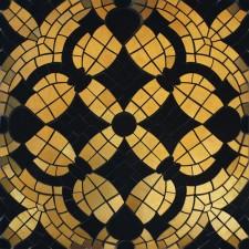 Villeroy & Boch La Diva Picture mosaic 30x30 cm ściana matowy tulipe noire-złoty - 406784_O1
