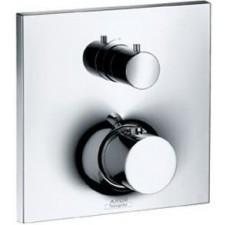 Axor Massaud bateria termostatyczna podtynkowa z zaworem odcinającym, element zewnętrzny - 2412_O1
