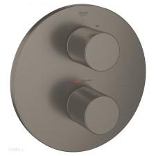 Grohe Grohtherm 3000 Cosmopolitan bateria wannowa podtynkowa termostat szczotkowany grafit - 750511_O1