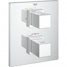 Grohe Grohtherm Cube bateria prysznicowa podtynkowa termostat chrom - 510321_O1