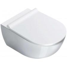 Catalano Sfera miska Wc wisząca bezrantowa NewFlush 35x54 +śruby mocujące (5KFST00) biała - 526340_O1