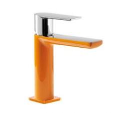 Tres Loft-Colors bateria umywalkowa stojąca pomarańczowy chrom - 457601_O2