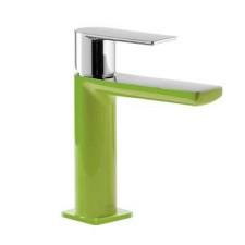 Tres Loft-Colors bateria umywalkowa stojąca zielony chrom - 457605_O2