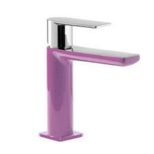 Tres Loft-Colors bateria umywalkowa stojąca fioletowy chrom - 457603_O2