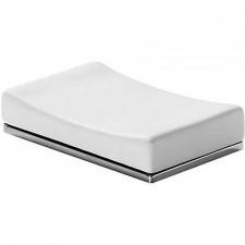 Tres Slim-Tres ceramiczna mydelniczka nablatowa chrom - 525580_O1